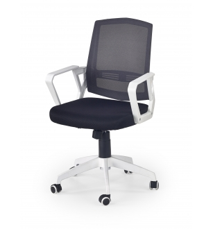 ASCOT office chair, color: black / white / grey