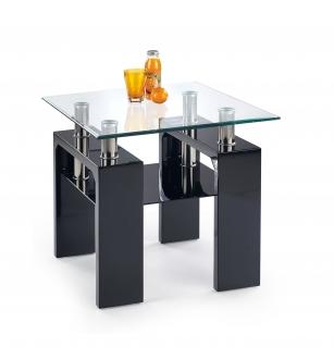 DIANA H KWADRAT coffee table color: black
