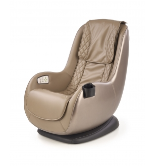 DOPIO massage chair, color: brown / beige