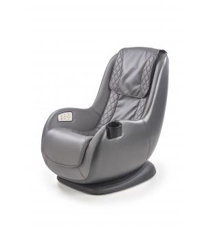 DOPIO massage chair, color: dark grey / grey