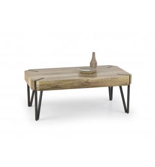 EMILY c.table, color: wold oak / black