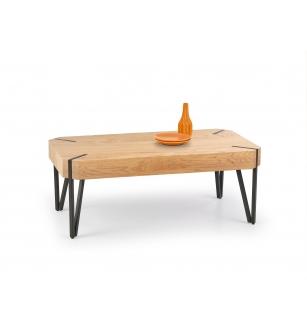 EMILY c.table, color: golden oak / black