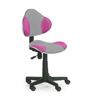 FLASH chair color: grey/pink