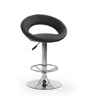 H15 bar stool color: black