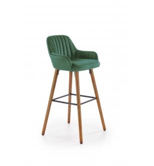 H93 bar stool, color: dark green