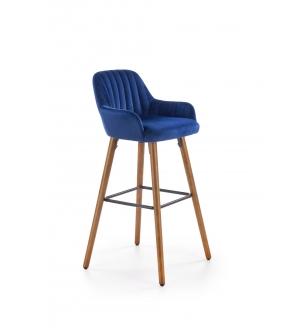 H93 bar stool, color: dark blue