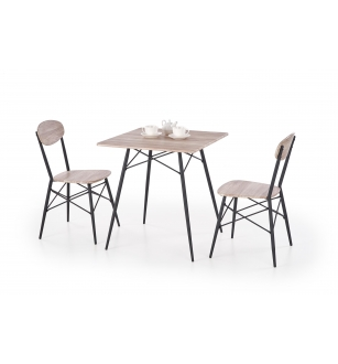 KABIR square, table 2 chairs