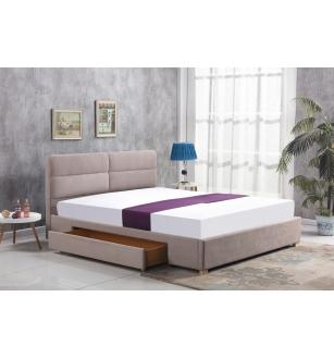 MERDIA bed, color: beige
