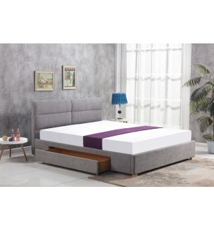 MERIDA bed, color: light grey