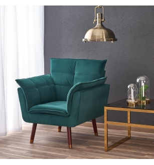 REZZO leisure chair, color: dark green