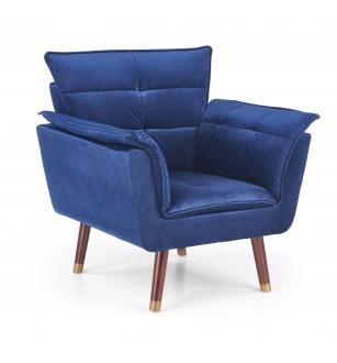 REZZO leisure chair, color: navy blue