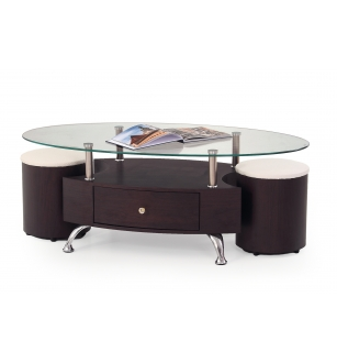 STELLA coffee table color: wenge