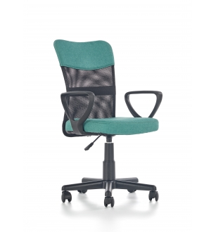 TIMMY o.chair, color: turquoise / black
