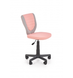 TOBY children chair, color: grey / pink