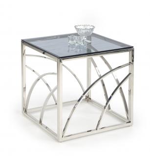UNIVERSE square silver c. table