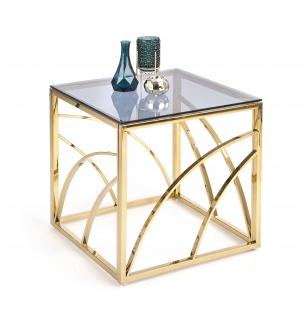UNIVERSE square gold c. table
