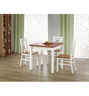 GRACJAN table color: alder / white