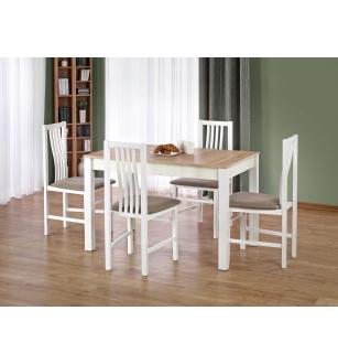 KSAWERY table color: sonoma oak / white