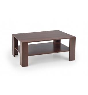 KWADRO c. table, color: dark walnut