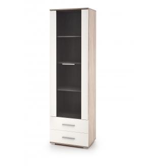 LIMA W1 cabinet white / sonoma oak