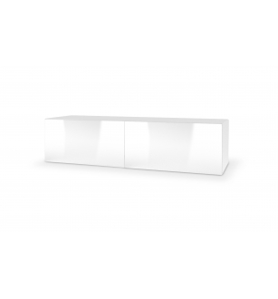 LIVO RTV-160W hanging TV-stand, color: white