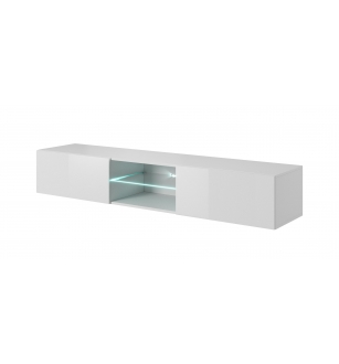 LIVO RTV-180W hanging TV-stand, color: white