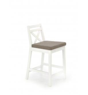 BORYS LOW bar stool, color: white / INARI 23