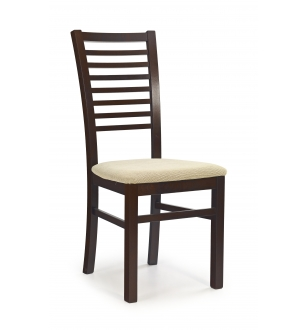 GERARD6 chair color: dark walnut/TORENT BEIGE