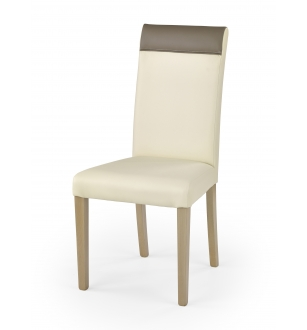 NORBERT chair color: sonoma oak / creamy / beige