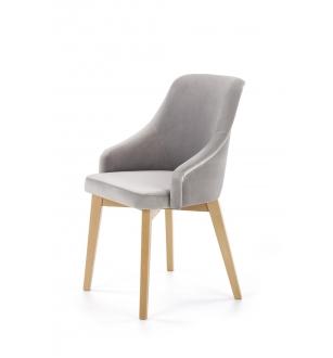 TOLEDO 2 chair, color: honey oak / SOLO 265