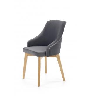 TOLEDO 2 chair, color: honey oak / SOLO 267