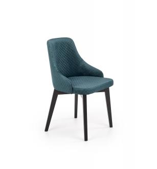 TOLEDO 3 chair, color: quilted velvet Karo 4 - MONOLITH 37