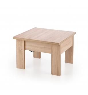 SERAFIN lifting c. table, color: sonoma oak