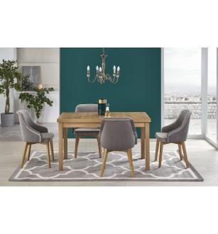 TIAGO 2 extension table riviera oak / riviera oak