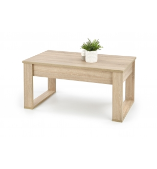 NEA c. table, color: sonoma oak