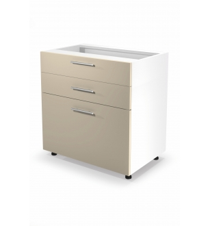 VENTO DS3-80/82 lower cabinet with drawers, color: beige