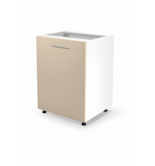 VENTO D-60/82 lower cabinet, color: white / beige