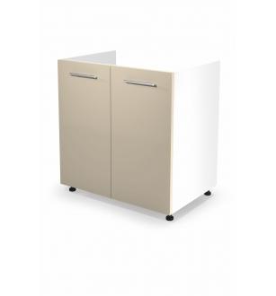 VENTO DK-80/82 sink cabinet, color: white / beige