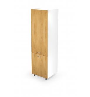 VENTO DL-60/214 high cargo cabinet, color: white / honey oak