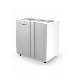 VENTO DN-100/82 corner lower cabinet, color: white