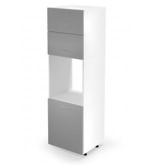 VENTO DP-60/214 high cargo cabinet, color: white / light grey