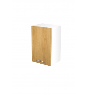 VENTO G-45/72 top cabinet, color: white / honey oak
