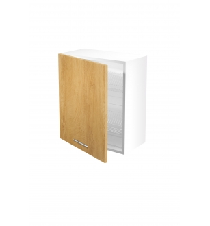 VENTO GC-60/72 top cabinet with drainer, color: honey oak