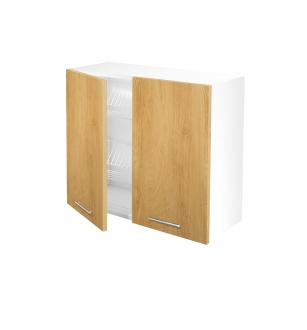 VENTO GC-80/72 top cabinet with drainer, color: honey oak