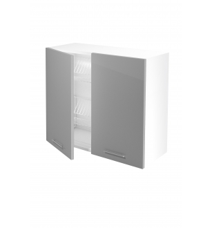 VENTO GC-80/72 top cabinet with drainer, color: light grey