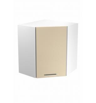 VENTO GN-60/72 corner top cabinet, color: white / beige
