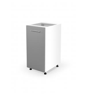 VENTO D-40/82 lower cabinet, color: white / light grey
