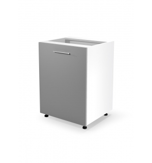VENTO D-60/82 lower cabinet, color: white / light grey