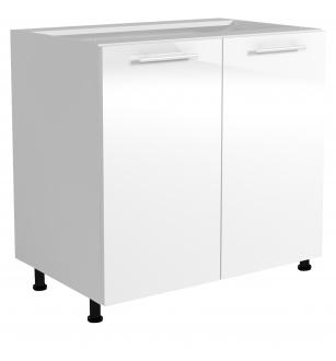 VENTO D-80/82 lower cabinet, color: white