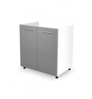 VENTO DK-80/82 sink cabinet, color: white / light grey